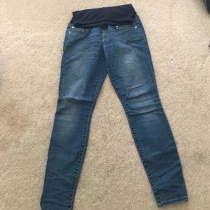 GAP Denim - Gap maternity skinny jeans