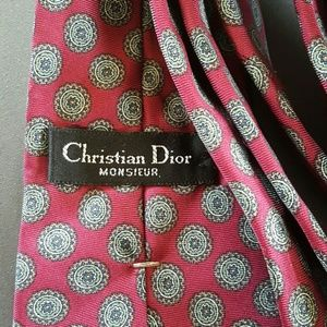 Christian Dior Other - Chrsitian Dior Mens Tie