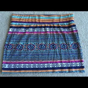 Rip Curl Dresses & Skirts - Rip Curl Bodycon mini skirt stretch hippie boho