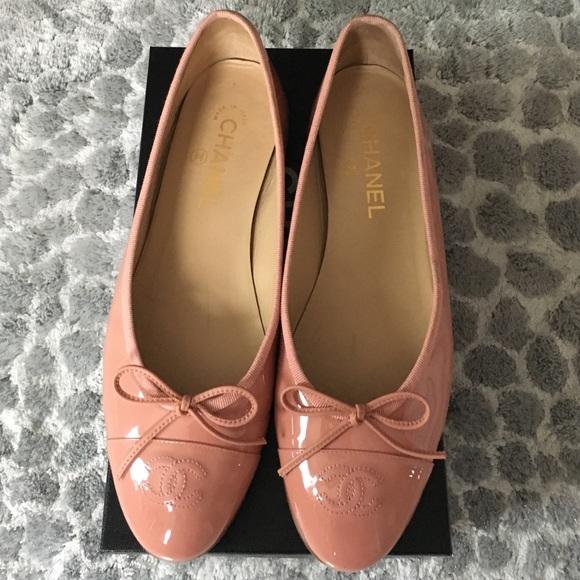 170d676c0d07 CHANEL Shoes - Chanel patent leather ballet flats