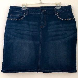 Sonoma Dresses & Skirts - Sonoma Modern Fit Denim Skirt