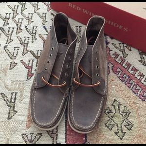 Red Wing Shoes Other - Red Wing Chukka 9191 Concrete Boat Shoes Sz 7.5 E