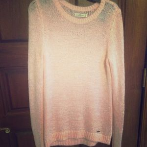 Abercrombie & Fitch Sweaters - Pink Abercrombie and Fitch Long Knitted Sweater