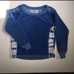 T2 Love Other - T2Love velvet open shoulder sweatshirt size 6