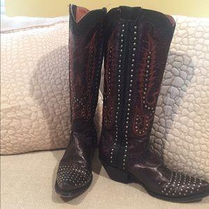 Dan Post Shoes - Dan Post Tempted Tall Western Boots