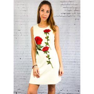 Dresses & Skirts - Rose Embroidered Dress