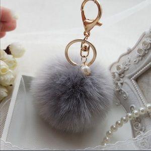 Cute Fur Ball Key Chain