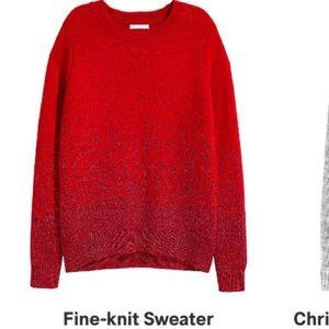H&M Sweaters - 🆕 H&M Fine Knit Sweater with glitter☺