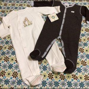 Other - Footed Onesie Bundle