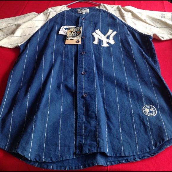 huge discount 45122 ae3bd Don Mattingly New York Yankees Mirage retro jersey NWT