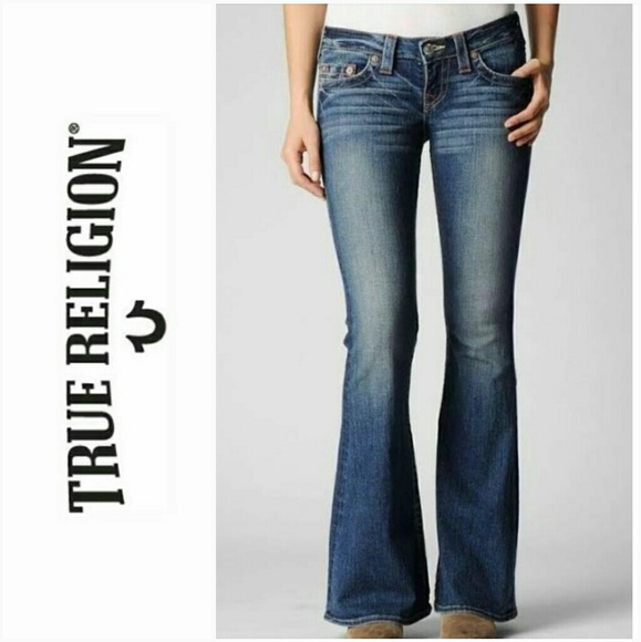 36b66bf98 NWT True Religion Flare Jeans