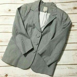 Halogen Jackets & Blazers - Halogen Pinstriped Blazer L