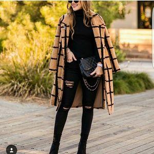 Lavish Alice Camel & black coat