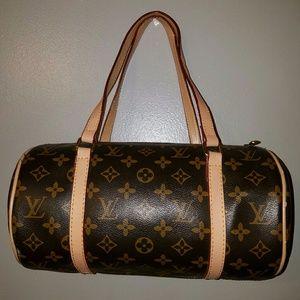Handbags - Signature Brown Barrel Purse * Bag