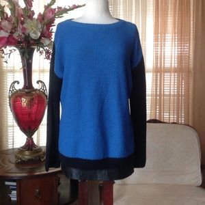 St John colorblock sweater
