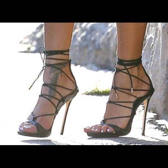 Shoes2 Strappy Sandals Dsquared Black Poshmark Riri SVzUMpq