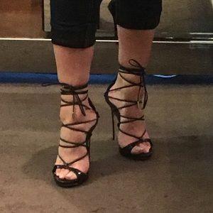 4c16f400789 DSQUARED Shoes - DSquared2 Riri Black Strappy Sandals