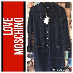 Love Moschino Dresses & Skirts - ❤Love Moschino | denim dress