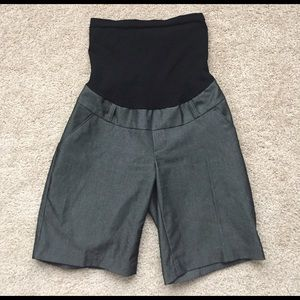 Motherhood Maternity Pants - Motherhood gray maternity shorts sz sm