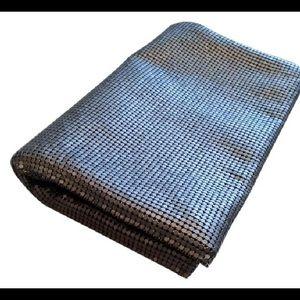 Robert Rodriguez Handbags - Robert Rodriguez Metal Mesh Gunmetal Clutch