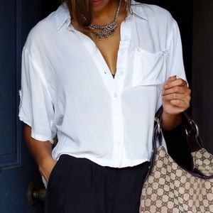 Urban Outfitters Tops - White button up