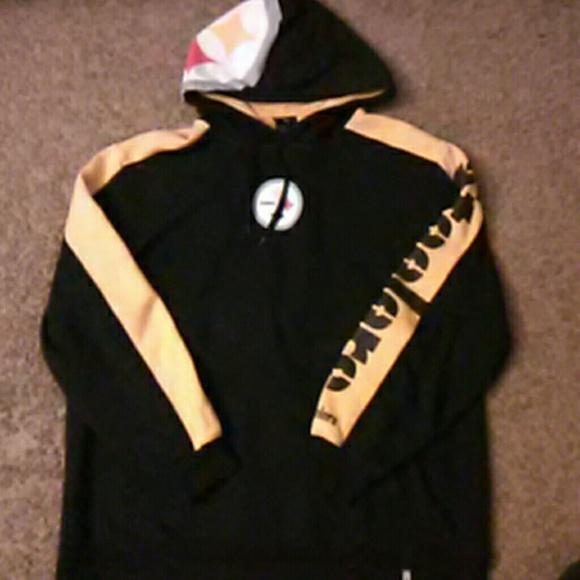 5ba06e1c7 Reebok PITTSBURGH STEELERS NFL hoodie