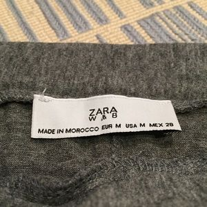 ZARA ASYMMETRICAL KNOTTED SKIRT