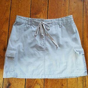 4 for $20-Denim mini skirt