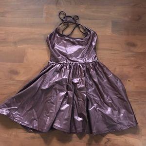 American Apparel Metallic Dress