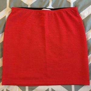 Dresses & Skirts - Red Skirt (mini)
