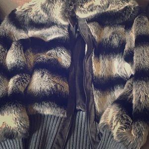 Rachel Zoe Faux fur jacket
