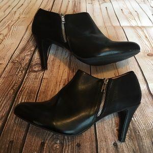 Report Shoes - Report black booties