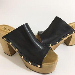 MICHAEL Michael Kors Shoes - Michael Kors 'Beatrice' Platform Slide clog