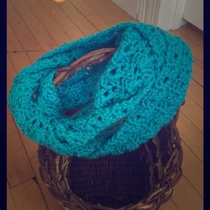 Accessories - Soft Robin Egg Blue Infinity Scarf