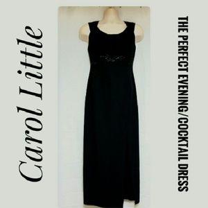 Carole Little Dresses & Skirts - *SALE* Carol Little Beaded Black Cocktail Dress