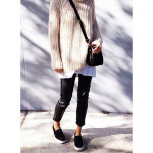 Boutique Shoes - Black Crochet Lace Slip On Espadrilles
