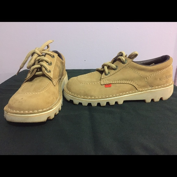 8bb71d487a89b3 Kickers Shoes | Kick Low Tan Suede | Poshmark