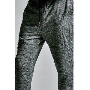 PacSun Other - Drop Fit Skinny Moto-biker fleece joggers gray