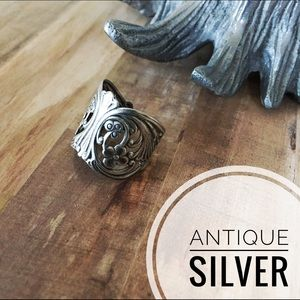 Antique Vintage Silver Ring