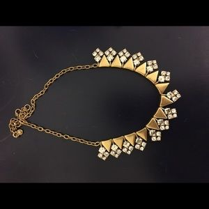 *SOLD*?Jcrew crystal statement necklace