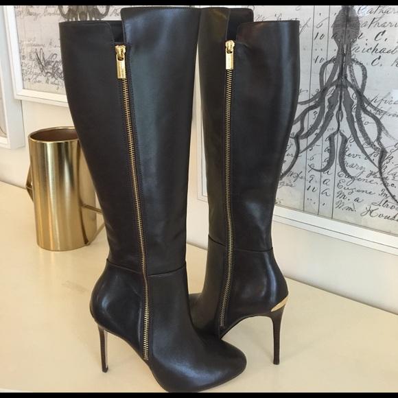 Michael Kors Black Stiletto Boots