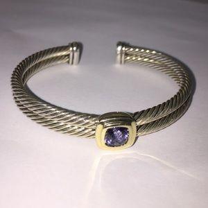 David Yurman Jewelry - David Yurman double cuff bracelet