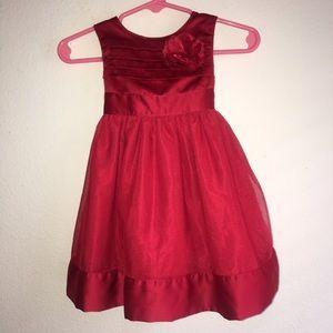 LAST PRICE DROP*Baby girl formal red dress