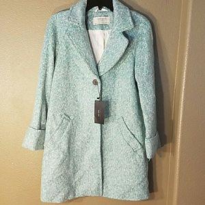 Zara Jackets & Blazers - NWT Zara long coat jacket so soft one button XS