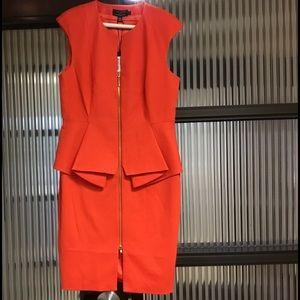 Ted Baker Dark Orange Dress