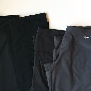 Nike Pants - Workout/ Yoga Pants Bundle of 4