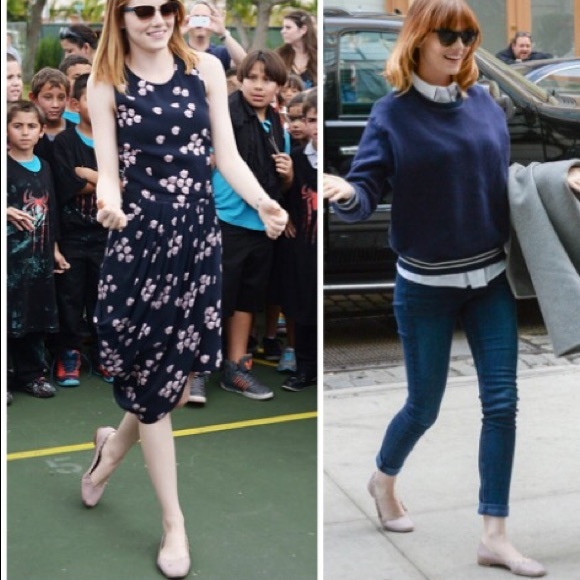 7d494d81912f3 Chloe Shoes | Lc Lauren Conrad Nude Flats Look Alike | Poshmark