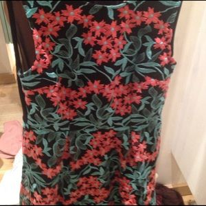 Dresses - Flower embroidered dress big sale