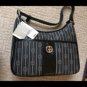 Giani Bernini Handbags - Black and grey purse