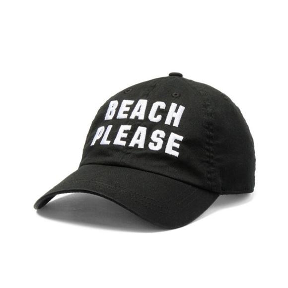 Beach Please baseball hat vs pink black new cap 5631f4bf740